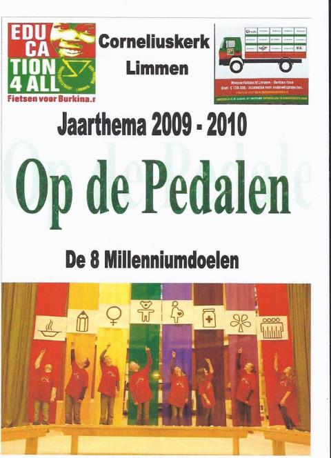 Jaarthema 2009-2010 Op de Pedalen