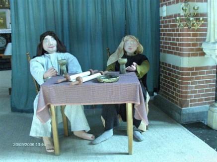 Jaarthema 2006-2007 Verhalen rond de tafel