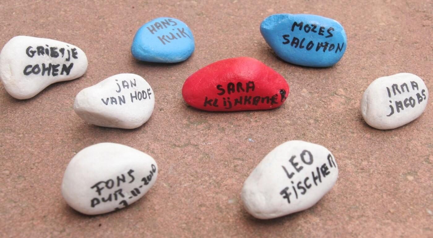 steentjes met namen